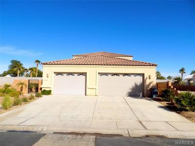 Mohave Valley AZ Single Family Home For Sale: $380,000