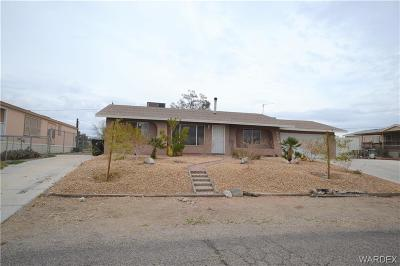 Fort Mohave Single Family Home For Sale: 5960 S Gazelle Drive