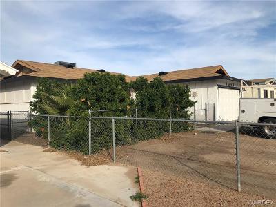 Bullhead AZ Single Family Home For Sale: $168,000