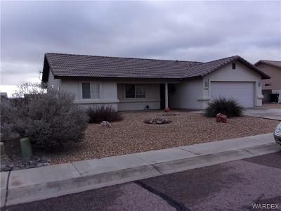 Kingman AZ Single Family Home For Sale: $219,500