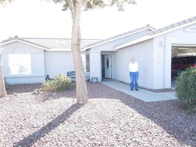 Mohave Valley Single Family Home For Sale: 2414 E Prickly Pear Drive