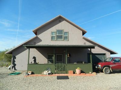 Wikieup Single Family Home For Sale: 19200 S Cholla Canyon Ranch