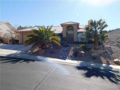 Bullhead Single Family Home For Sale: 2884 Desert Vista Drive