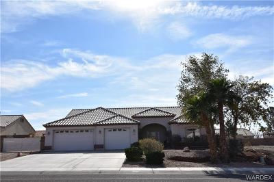 Bullhead AZ Single Family Home For Sale: $339,900