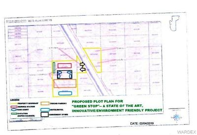 Mohave County Residential Lots & Land For Sale: 20 Acres Highway 93