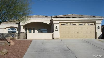 Fort Mohave Single Family Home For Sale: 2157 E Crystal Drive
