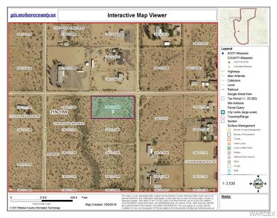 Mohave County Residential Lots & Land For Sale: Tbd N Stewart Mountain Road