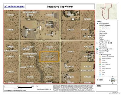 Mohave County Residential Lots & Land For Sale: 3741 N Stewart Mountain Road