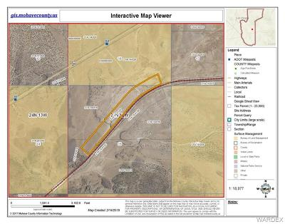 Mohave County Residential Lots & Land For Sale: Tbd Mile Marker 92