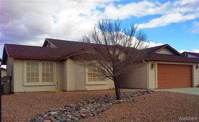 Kingman AZ Single Family Home For Sale: $198,950