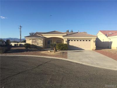 Fort Mohave Single Family Home For Sale: 1837 E Club House Way