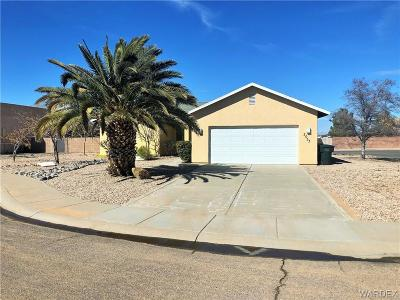 Kingman AZ Single Family Home For Sale: $174,900
