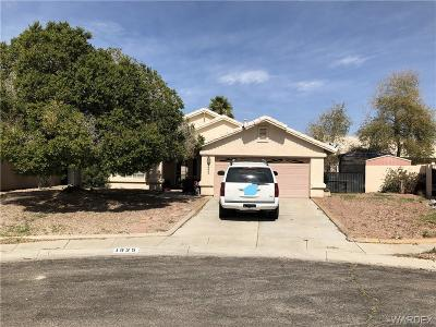 Fort Mohave Single Family Home For Sale: 1925 E Club House Cove