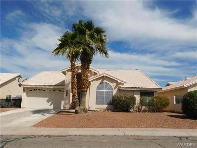 Fort Mohave Single Family Home For Sale: 1927 E Clubhouse Plz