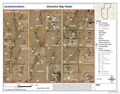Golden Valley Residential Lots & Land For Sale: 0000 Santa Cruz Rd