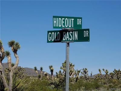 Mohave County Residential Lots & Land For Sale: 6 Lots Gold Basin Drive