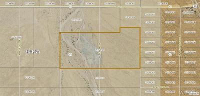 Mohave County Residential Lots & Land For Sale: Gravel Pitt White Hills 75.06 Acres