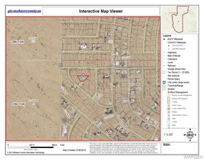 Kingman Residential Lots & Land For Sale: 7879 E Rawhide Drive