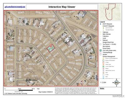 Kingman Residential Lots & Land For Sale: 6920 E Rio Verde Drive