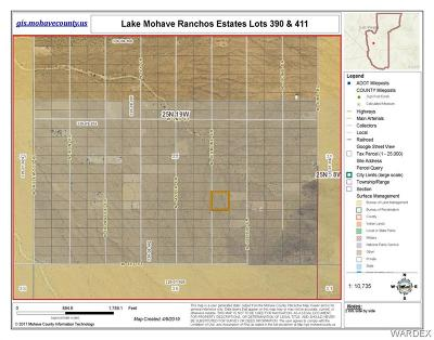 Mohave County Residential Lots & Land For Sale: Lots 390+411 Jesmond Drive