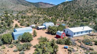 Mohave County Manufactured Home For Sale: 15750 E Dicks Camp Road