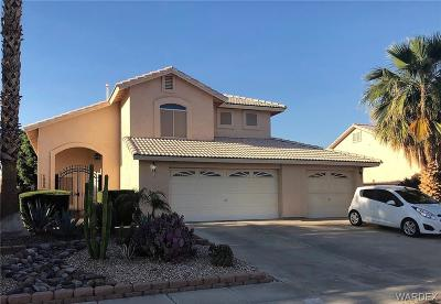 Fort Mohave Single Family Home For Sale: 1895 E Shasta Lake Drive