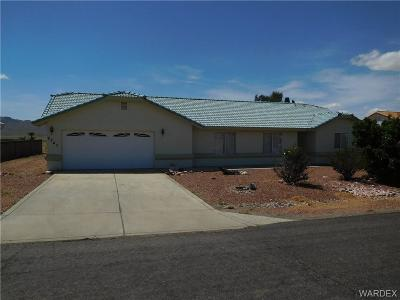 Kingman Single Family Home For Sale: 9743 N Saddleback Drive