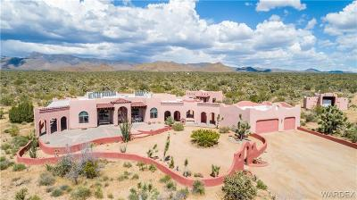 Yucca Single Family Home For Sale: 19930 S Diamond Back Road