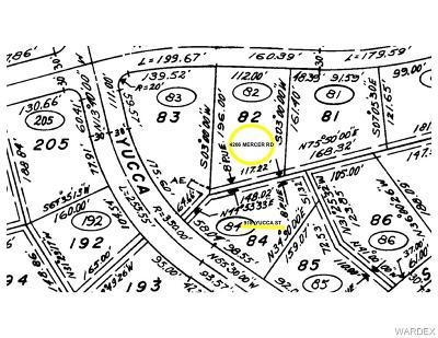 Bullhead Residential Lots & Land For Sale: 4206 Mercer Road