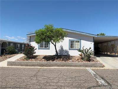 Fort Mohave Manufactured Home For Sale: 2066 E El Rodeo Lot 57 Road