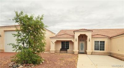 Mohave Valley Single Family Home For Sale: 8308 S Evergreen Drive