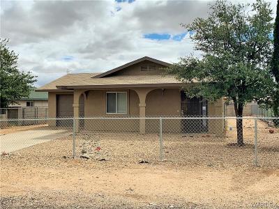 Kingman Single Family Home For Sale: 2780 N Alpha Street