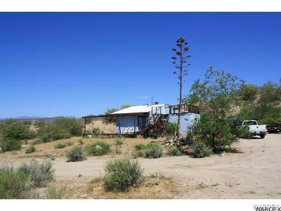 Wikieup Single Family Home For Sale: 14012 E Washington Avenue