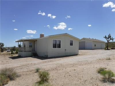 Mohave County Manufactured Home For Sale: 30883 N Diamond Creek Dr Drive