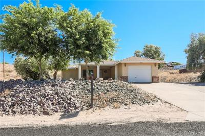 Topock/golden Shores Single Family Home For Sale: 4619 E Beach Drive