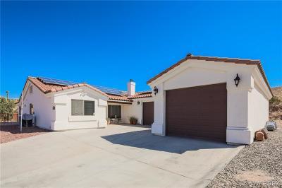 Topock/Golden Shores Single Family Home For Sale: 4629 E Beach Drive