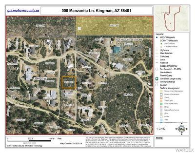 Kingman Residential Lots & Land For Sale: Manzanita Lane
