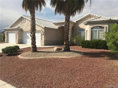 Bullhead Single Family Home For Sale: 2749 Desert Stars Lane
