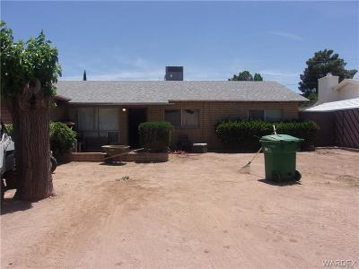 Kingman AZ Single Family Home For Sale: $149,000