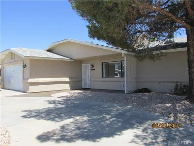 Kingman AZ Single Family Home For Sale: $169,900
