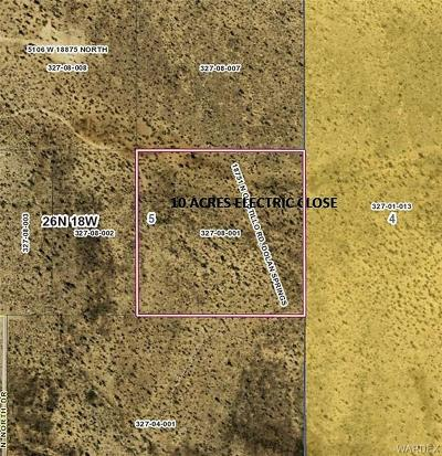 Mohave County Residential Lots & Land For Sale: 18751 N Ocotillo Road