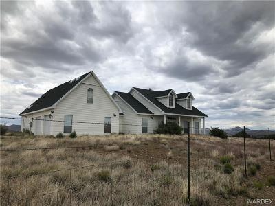 Wikieup Single Family Home For Sale: 0000 Jays Way