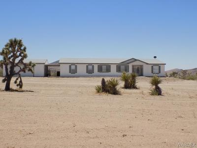 Mohave County Manufactured Home For Sale: 8756 W Marloma Drive