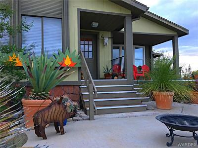 Mohave County Manufactured Home For Sale: 30255 N Shore Avenue