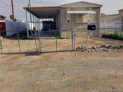 Bullhead Manufactured Home For Sale: 1846 Rio Grande Road