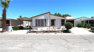 Fort Mohave Manufactured Home For Sale: 2066 E El Rodeo Road