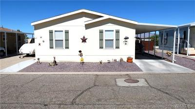 Fort Mohave Manufactured Home For Sale: 2066 E El Rodeo Lot 61 Road