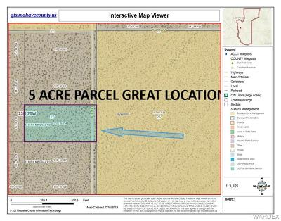 Mohave County Residential Lots & Land For Sale: 13917 N Mineral Road