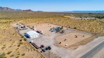 Golden Valley Single Family Home For Sale: 2694 W Oatman Highway