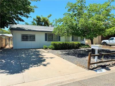 Kingman Single Family Home For Sale: 1726 Atlantic Avenue